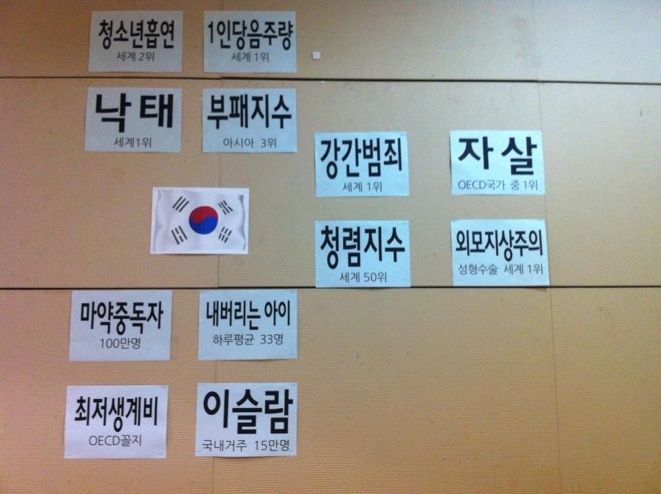 한국 12대 기도제목