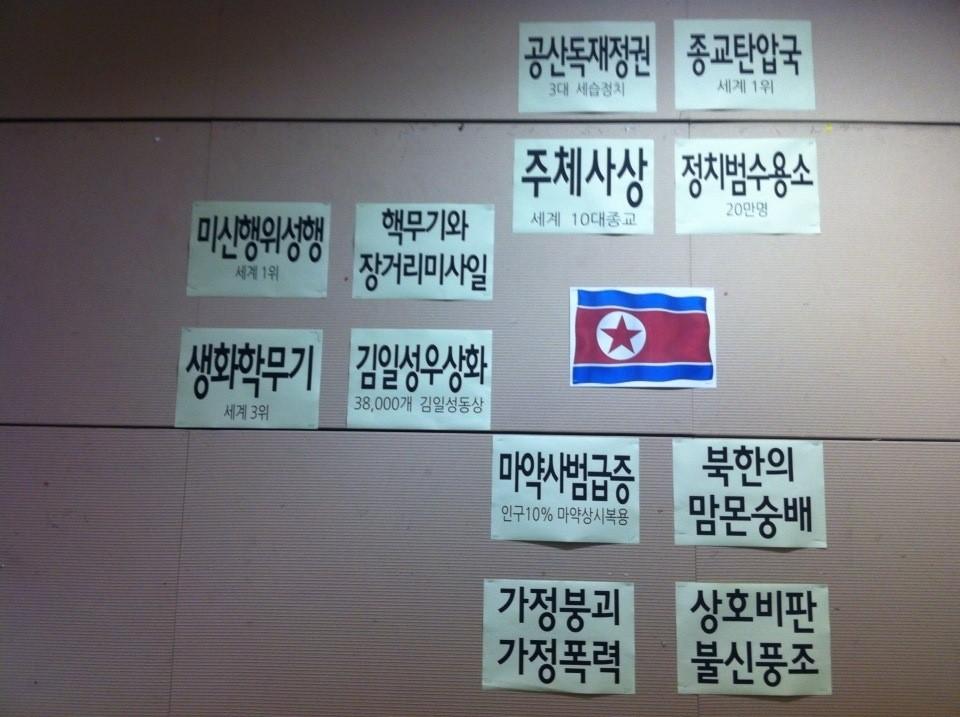 북한 12대 기도제목